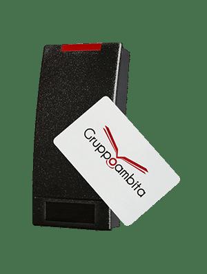 Lettore RFID con sistema antivandalo per controllo accessi GCW26