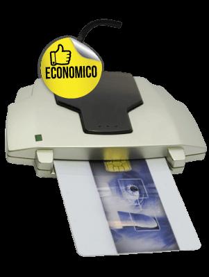 Lettore / scrittore di smartcard con chip SPACESHIP