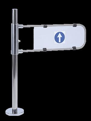 Portello meccanico per controllo accessi CAME FLAG