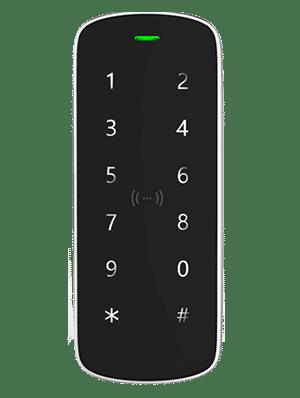 Lettore RFID con tastierino e sistema antivandalo per controllo accessi uso interno ed esterno GTA15