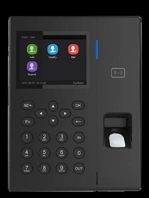 Lettore biometrico di impronte digitali, con tastierino per controllo accessi G1200