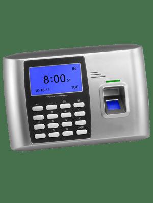 Lettore RFID e biometrico per le impronte digitali, con tastierino per controllo accessi GB100