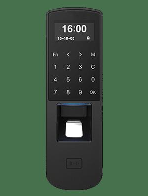 Lettore RFID e biometrico per le impronte digitali, con tastierino per controllo accessi BP70