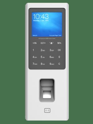 Lettore RFID e biometrico per le impronte digitali, con tastierino per controllo accessi BPW80