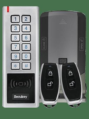 controllo accessi con sistema wireless e lettore RFID o PIN WL30