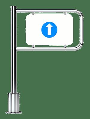 Portello meccanico per esterni GPM12