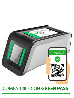 lettore QR-code validatore green pass SHP254